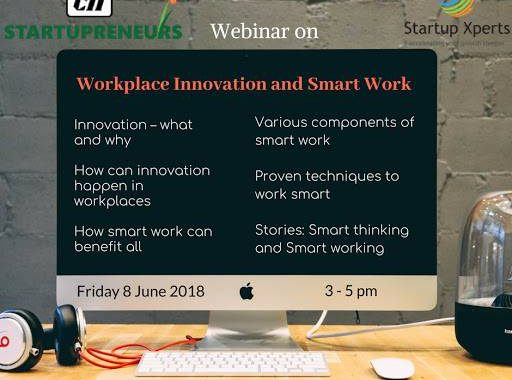 Webinar for CII – Workplace Innovation and Smartwork