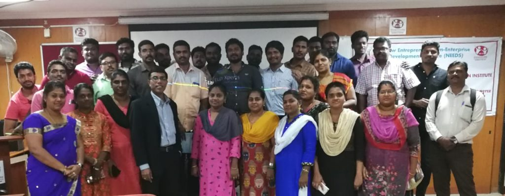 Pitch-in Ideas Session  to Entrepreneurs - EDII Chennai