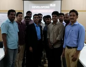 Startup Workshop for Entrepreneurs at CIPET Chennai