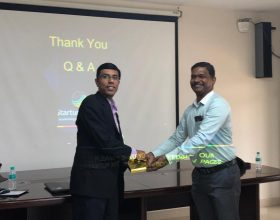 Guest Speaker at Nagarathar Chamber of Commerce 1