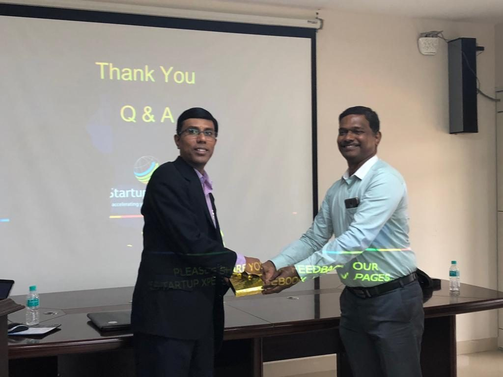 Guest Speaker at Nagarathar Chamber of Commerce